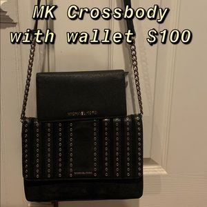 Michael Kors crossbody with wallet